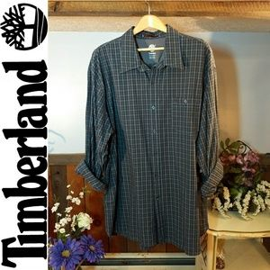 Timberland Shirts - Plaid Button Down Shirt